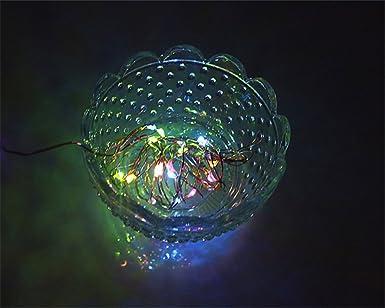 18631499e5e Pack of 2) BUYERTIME 2M 6.5Ft 20 LEDs Cadena de Luces Impermeable ...