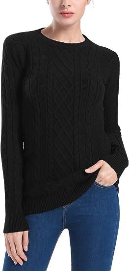 Mens Sweater Jumper Crew Neck Stallion Knitted Long Sleeve Tops Designer New