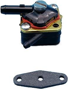Tuzliufi Replace Fuel Pump Gasket Johnson Evinrude Mercury Marine Engines 6hp 8hp 9.9hp 15hp 1981 1982 1983 1984 1985 1986 1987 1988 1989 1990 1991 1992 Repl. 397839 391638 395091 397274 New Z80