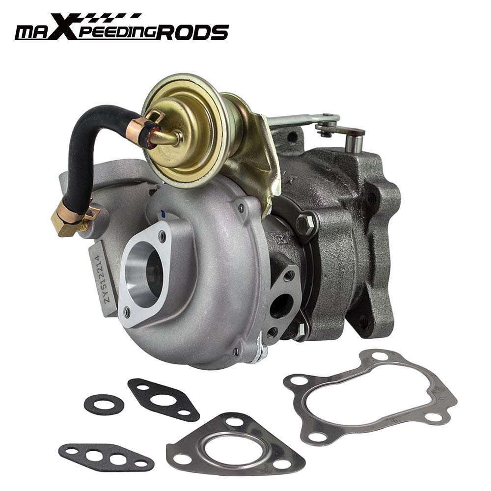 maXpeedingrods VZ21 RHB31 Mini Turbo Charger 100HP 500-600ccm for Small Engines Snowmobiles Murray Briggs and Stratton Quads Rhino Motorcycle for Suzuki ALTO with YA1/F6AT Turbocharger 13900-62D51