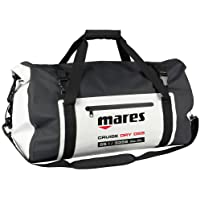 Mares 415450-BKWH MBP15 - Bolsa Impermeable con Cierre Enrollable (15 L), Color Blanco y Negro