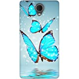 FASHEEN Premium Designer Soft Case Back Cover for Micromax Canvas Mega 4G Q417