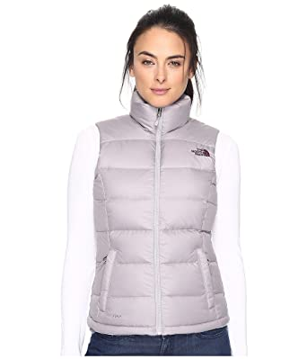 THE NORTH FACE NUPTSE 2 VEST WOMENS 1195 WHITE / HIGH RISE GREY