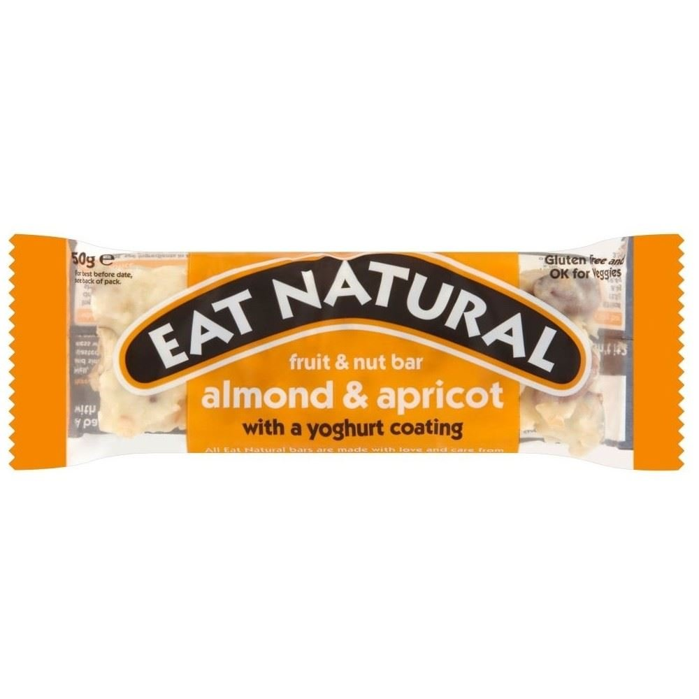 Eat Natural Yoghurt Coated Almond & Apricot Bar (50g) - Pack of 2