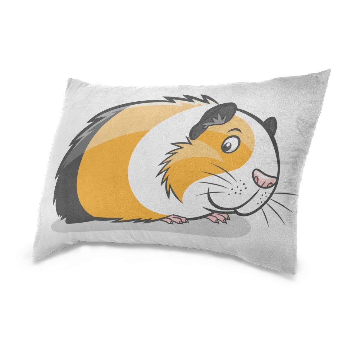 Funda de almohada diy de dibujos animados lindo conejillo de ...
