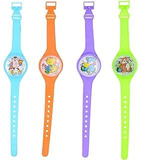Henbrandt 12x Relojes de Juguete para niños - Rellenos para Bolsas de Fiesta / premios en