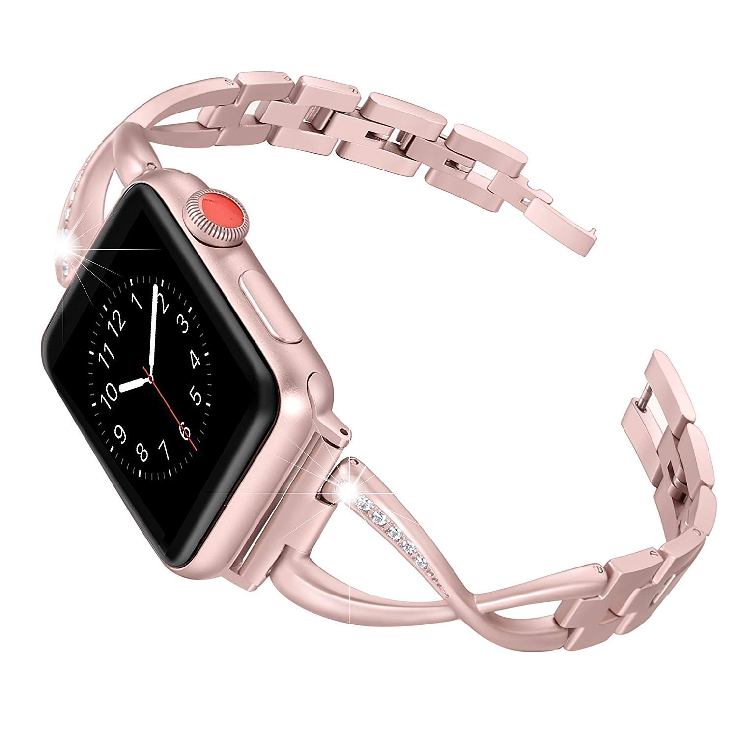 Amazon.com: Compatible with Apple Watch Band 44mm, Stainless ...