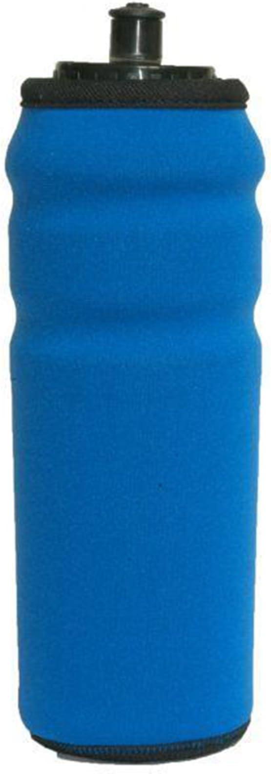 Funda de Neopreno en Color Azul para Bidon de Ciclismo de 700cc ...