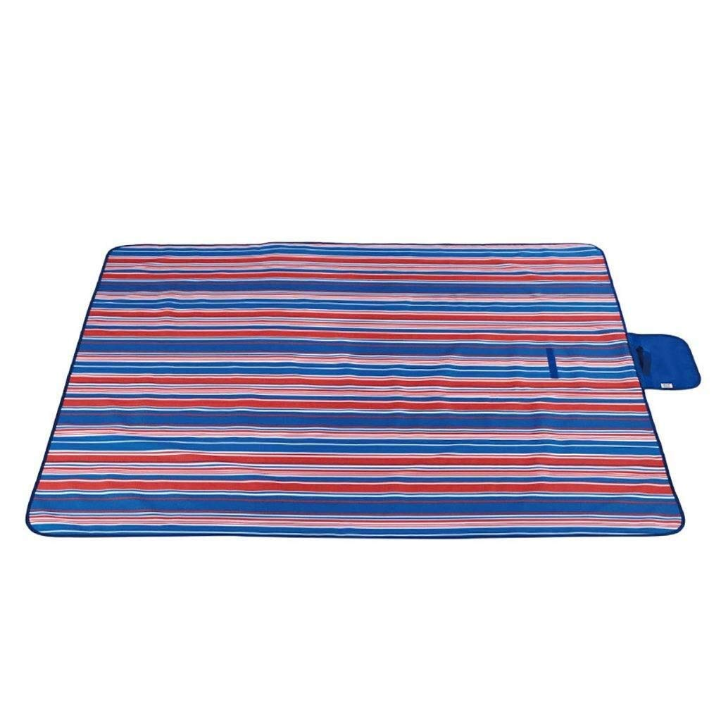 ZKKWLL Picnic Blanket Outdoor Picnic Blanket Picnic mat Moisture-Proof Carpet Padded pad Oxford Cloth Lawn mat Portable Picnic Cloth pad Beach Camping Trip Beach mat (Color : B) by ZKKWLL