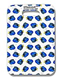 TooLoud Blue Tang Fish AOP Luggage Tag Single Side All Over Print