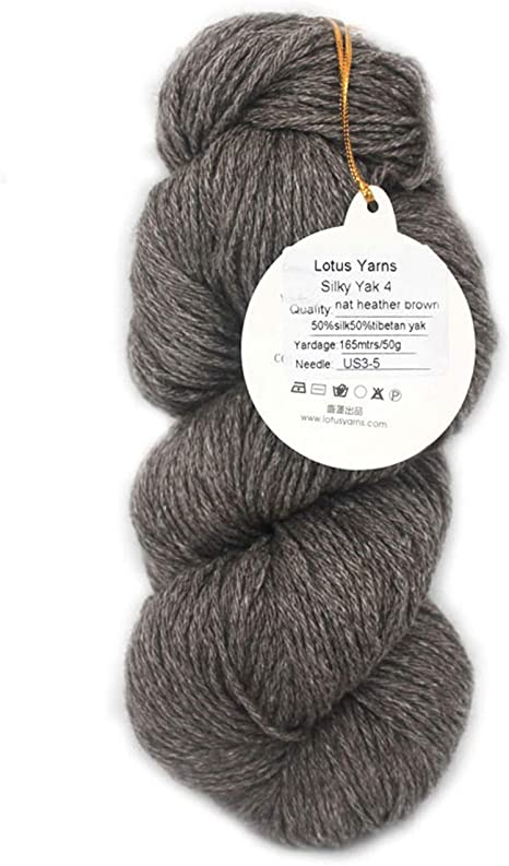 SILK /& IVORY-EGGPLANT-19--1 SKEINS WITH THIS LISTING
