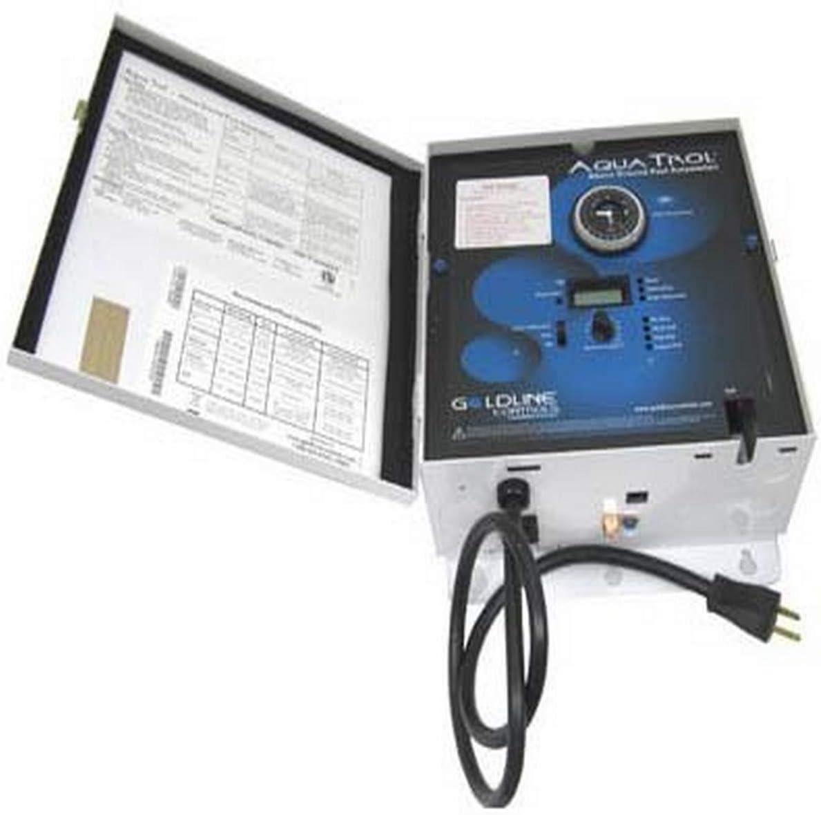 Hayward GLX-CTL-TR-RJ RJ Straight Blade Control Unit Replacement for Hayward Goldline Aqua Trol Salt Chlorine Generators
