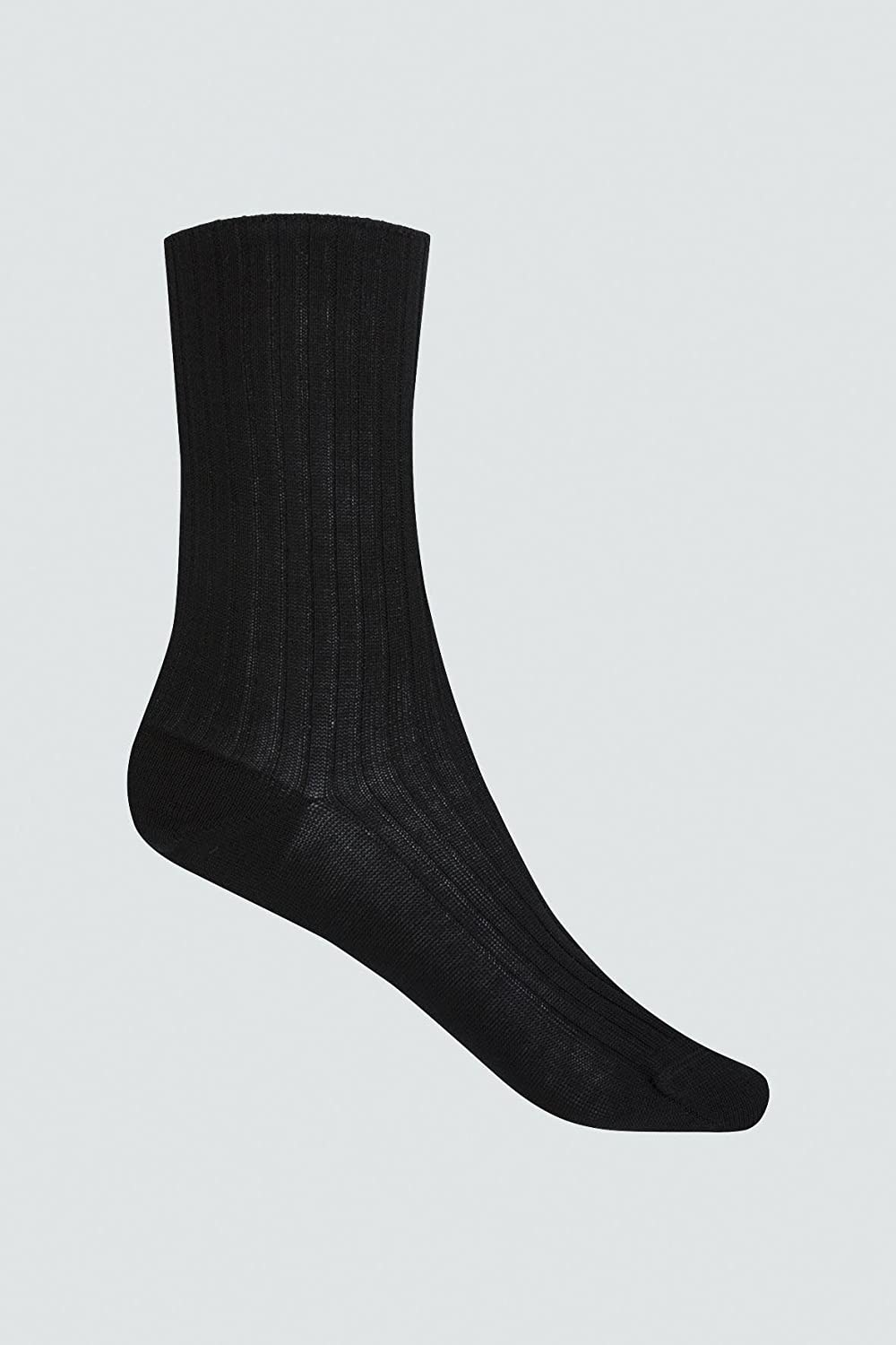Punto Blanco 2 Pares de Calcetines Para Hombre Easy Socks By Hilo | Color Negro | Talla 41-42: Amazon.es: Deportes y aire libre
