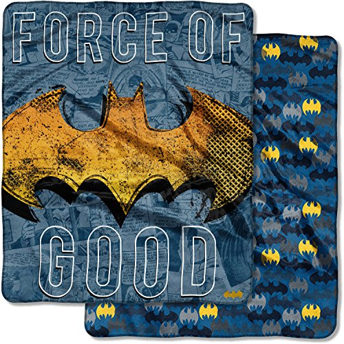 """The Northwest Company Batman, Great Hero Double Sided Cloud Throw x, 50"""" x 60"""" at Gotham City Store"""