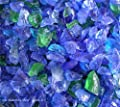"""Pacific Mix - Fire Glass Fireplace Fire Pit Glass ~3/8-1/2"""" - 10 LBS"""