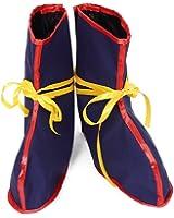 Miccostumes Men's Dragon Ball Z Son Goku Kamesennin Boots Shoes Cover