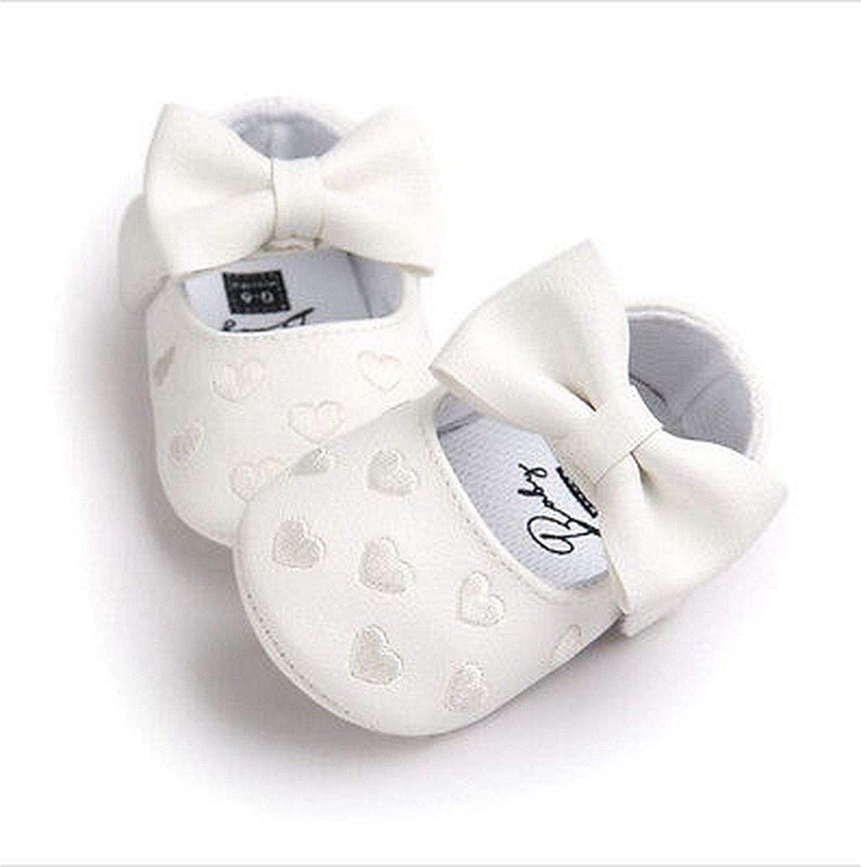 Kinggolder Fashion Newborn Baby Boy Girl Pu Moccasins Soft Ballet Shoes