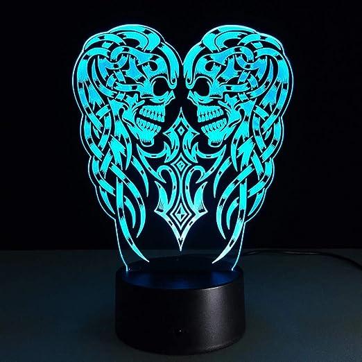 Orangeww 3d Night Light/lámpara de escritorio de ilusión ...