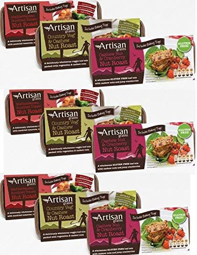 Artisan Grains Nut Roast Mixed Case 9 x 200g