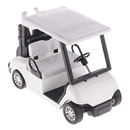 Amazon.com: Muzboo - Carrito de golf (escala 1:20, mini ...
