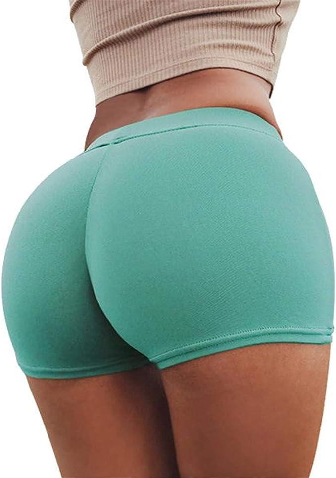 Amazon.com: Kollmert Pantalones cortos de yoga para mujer ...