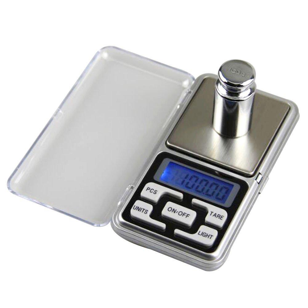 Lezed de precisión Mini de bolsillo portátil Báscula electrónica joyas de escala electrónica Báscula 0.1 g Precisión Cocina Electrónica Digital Cocina ...