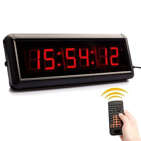 IJFDN 1.5-In Multifunción 6 Reloj de Cuenta Regresiva led Digital ...