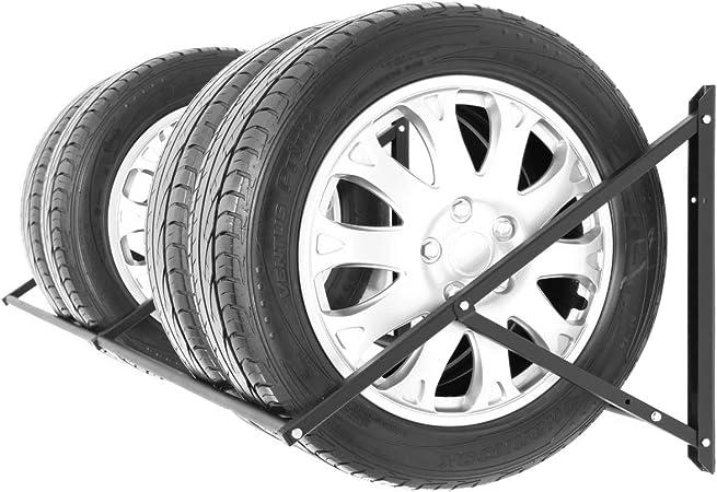 Stillerbursch Reifenregal Felgenbaum Reifenhalter Reifenwandhalter Felgenregal Für 8 Räder Auto