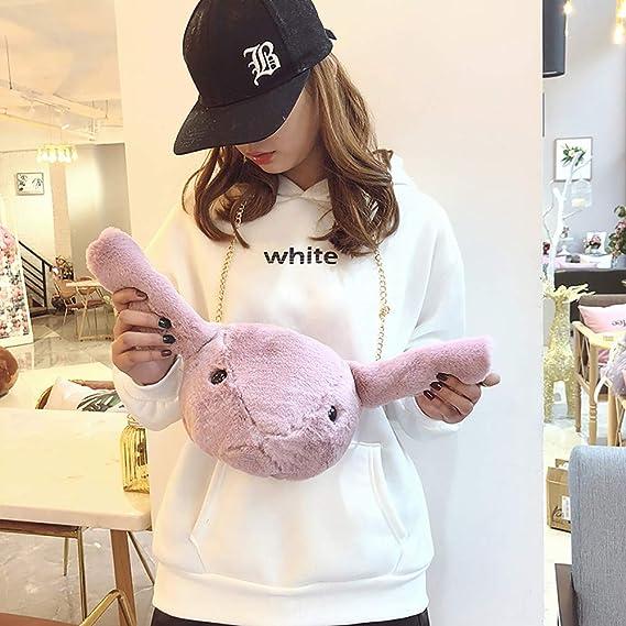 1fa6a1da026c Amazon.com: Zainafacai Shoulder Bag for Women Cute Doll Tide Wild ...