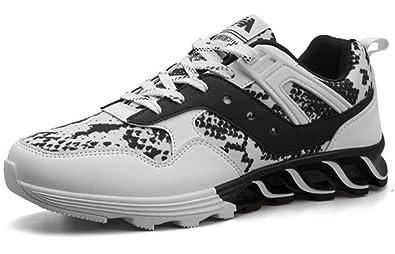 LFEU Chaussure de Sport Homme Sneakers Pour Running Entraînement Tissu Sport  Formateurs Basket Casuel Antidérapant Endurance e5da85b4c66