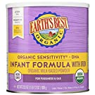 Earth's Best Organic Sensitivity Infant Formula with Iron, 23.2 Ounce