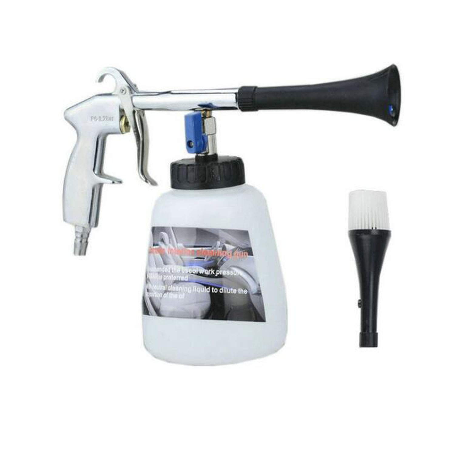 Dasen Car Cleaning Gun, Car Care Interior Cleaning Kit Tool with Nozzle Sprayer Connector