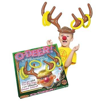 Inflatable Reindeer Antlers Christmas Game