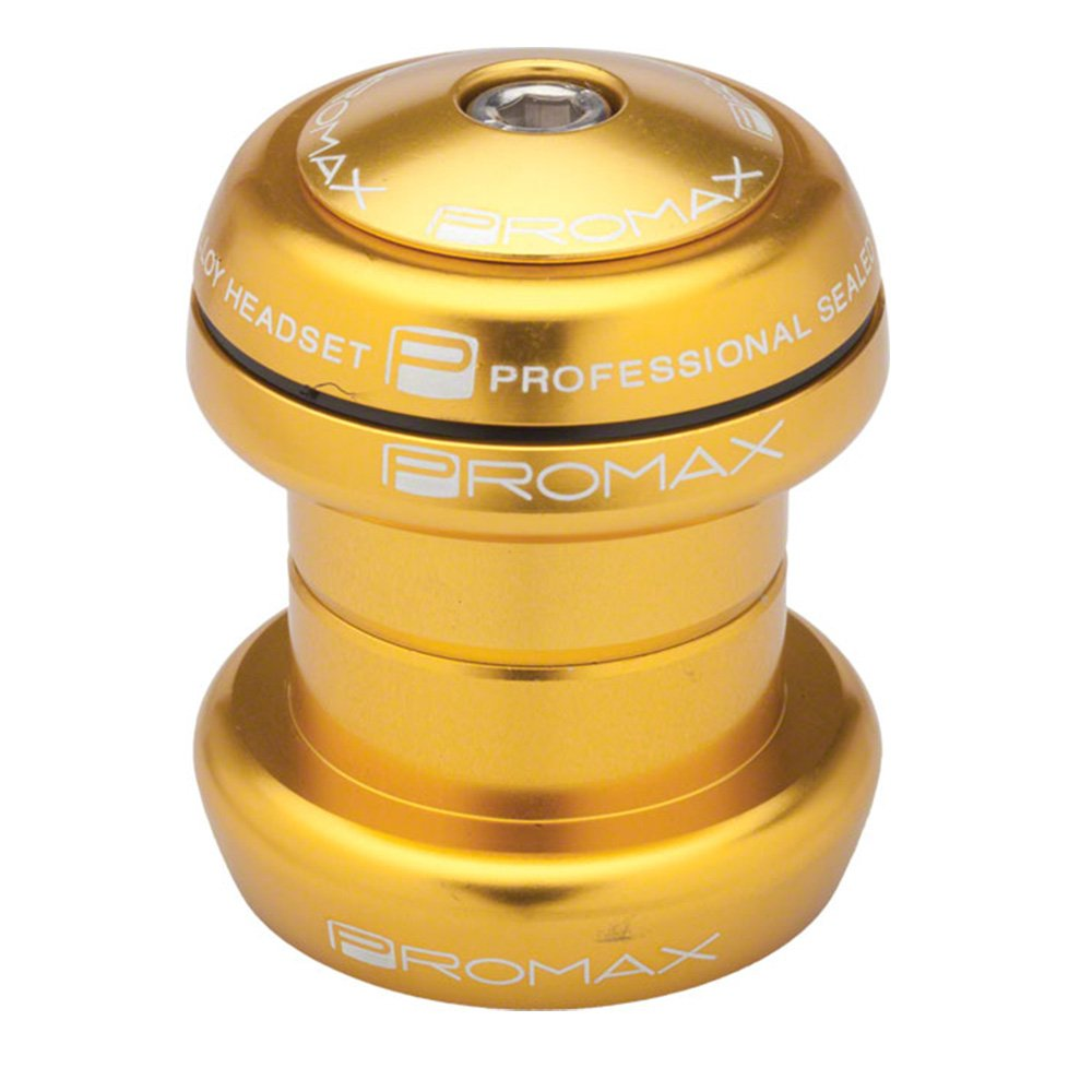 PROMAX PL-1 SEALED PRESS IN HEADSET 1 1 8 GOLD