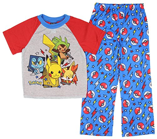 Nintendo Pokemon Boys Pajamas Little