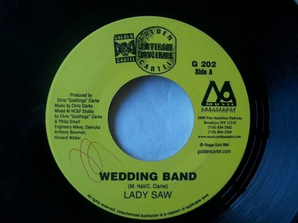 Lady Saw - LADY SAW Wedding Band USA 7