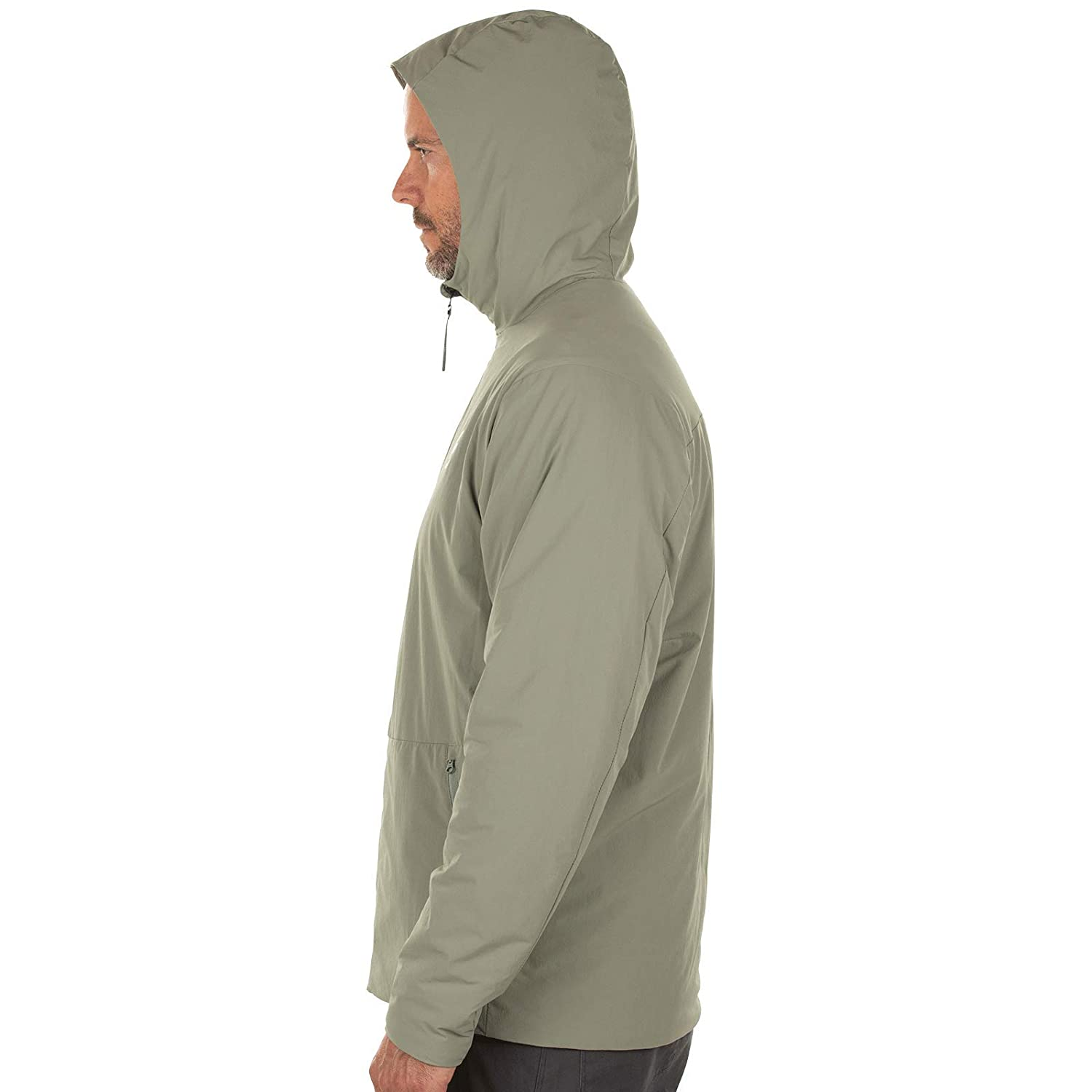 Medium Magpul Mens Light Insulated Hoody Bearing Grey