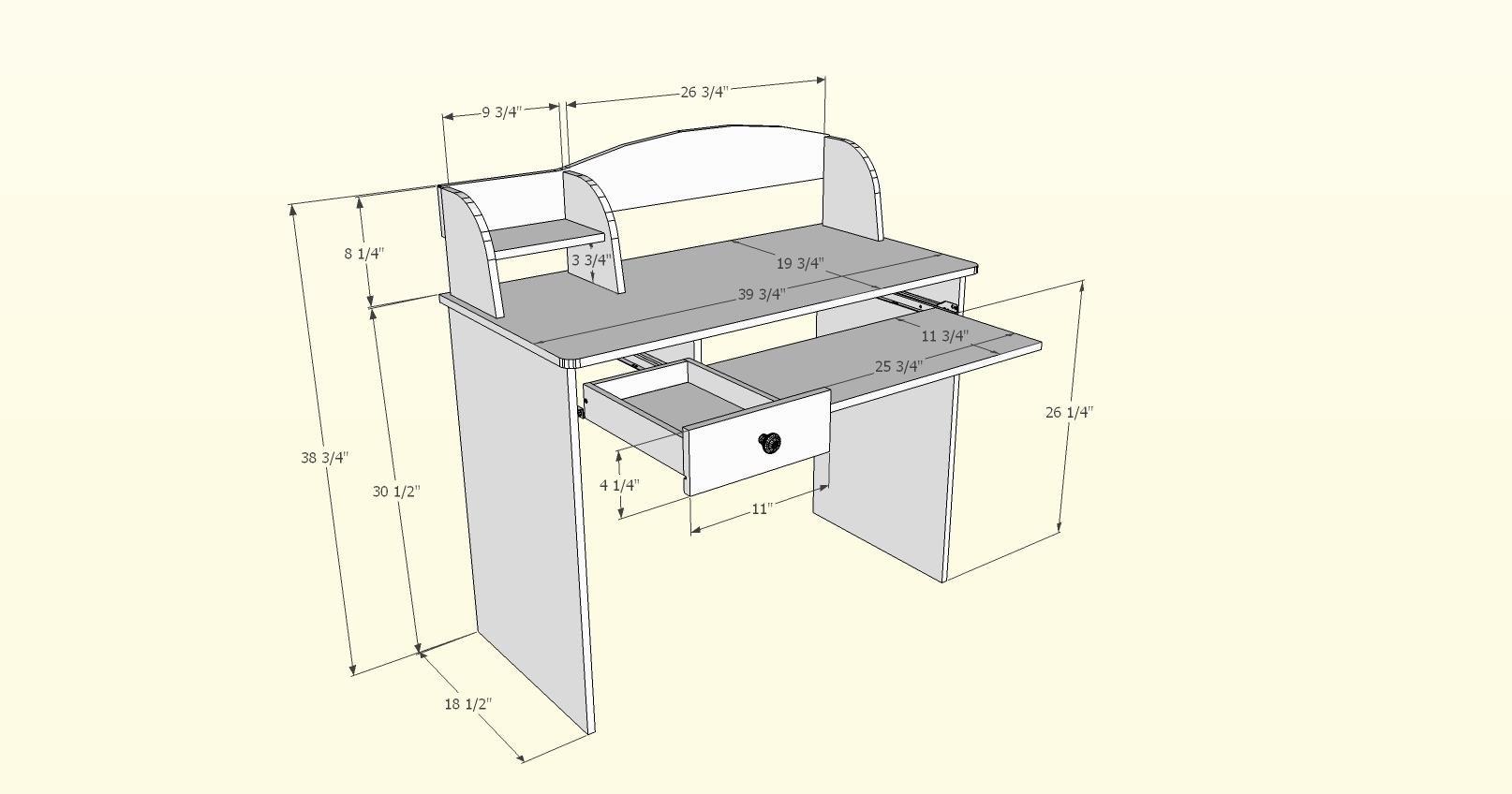 Alegria 5642 Student Desk from Nexera, Natural Maple