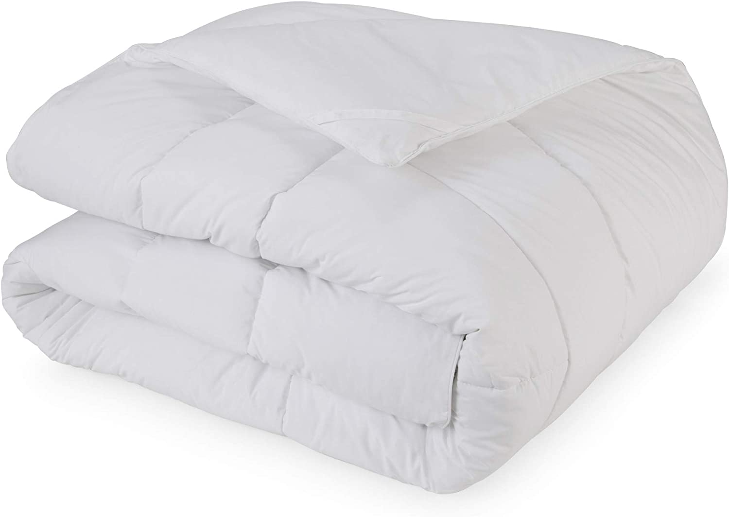 ECO PURE Pure and Simple Comforter, Twin, White