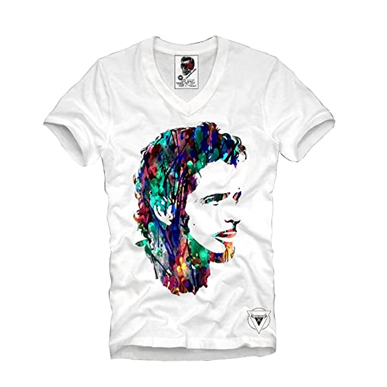 E1Syndicate T-Shirt Chris Cornell Tribute Audioslave Soundgarden Seattle Grey P4BF8