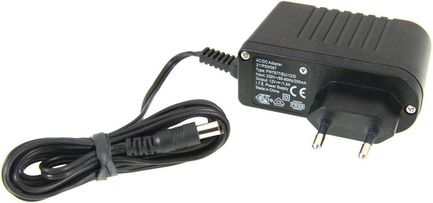 PSR-500 12V Netzteil für Yamaha Keyboard Ersatz für PSR-210 PSR-520