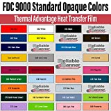 FDC 9000 Standard Opaques - 15in x 10 yards - Thermal Advantage Heat Transfer Film (008 - Brown)