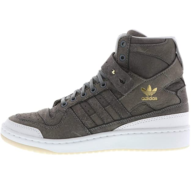 sports shoes fe218 d0ac4 adidas Forum HI Crafted BW1253 Herren Sneaker grauweiß Amazon.de Schuhe   Handtaschen
