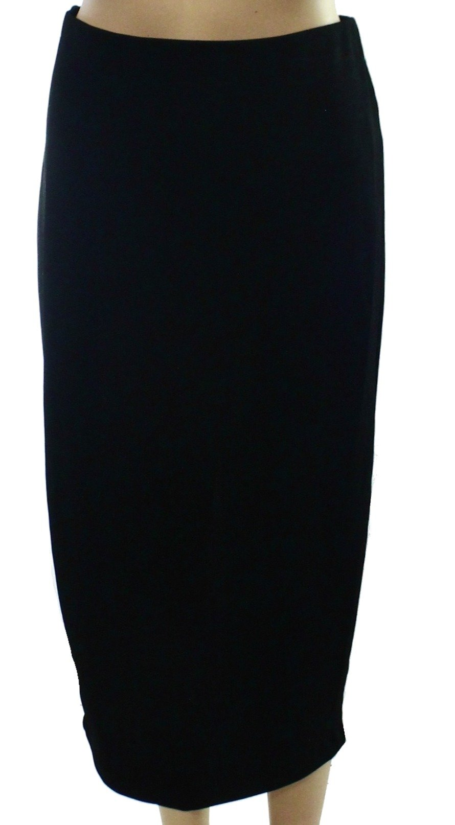 Harlowe & Graham Women's Small Straight Pencil Skirt Black S