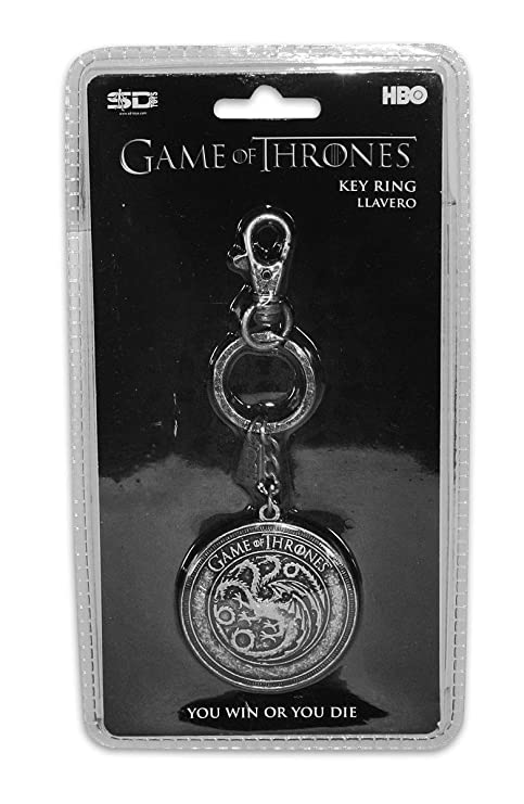 Amazon.com: Game of Thrones Keychain Targaryen: Clothing