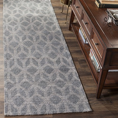 Safavieh Cape Cod Collection CAP415A Handmade Grey and Gold Jute Runner (2'3 x 12')