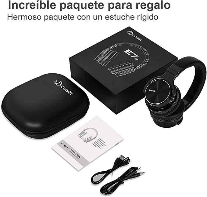 Cowin E7 Pro [Actualización] Auriculares inalámbricos Bluetooth ...
