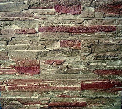 Monaco Stamp Texturing Skin Slate Pattern Stone Decorative Concrete Cement Imprint Texture Stamp Mat