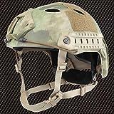 ops core fast carbon helmet - AIRSOFT CARBON PJ TYPE OPS CORE FAST BASE JUMP HELMET ATAC FG WITH ARC RAILS
