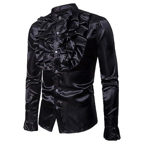 Camisa de ajuste estándar para hombre Para hombre traje ...